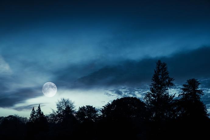 belas fotos da lua cheia