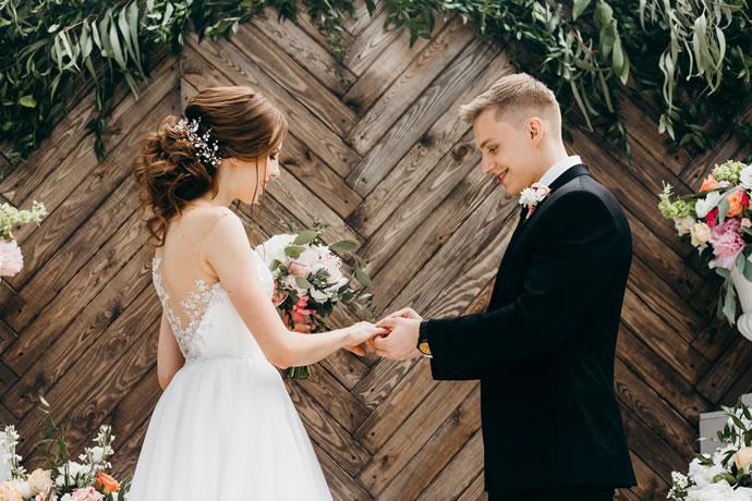 poses para fotos de casamento
